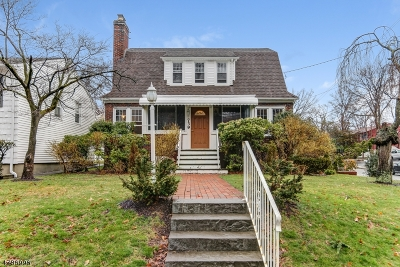 West Orange Twp. Single Family Home For Sale: 739 Eagle Rock Ave