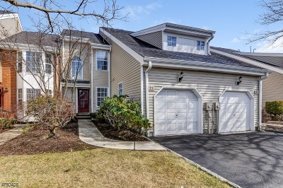 West Orange Twp. Condo/Townhouse For Sale: 97 Giordano Dr