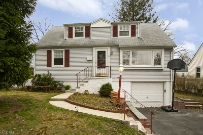 West Orange Twp. Single Family Home For Sale: 21 Sunnyside Rd