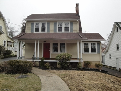 West Orange Twp. Single Family Home For Sale: 79 Lawrence Ave