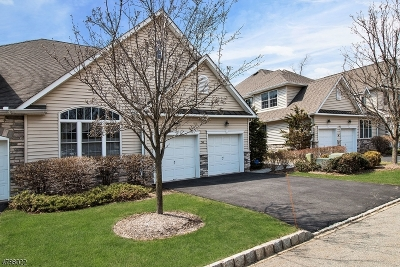 Parsippany-Troy Hills Twp. Condo/Townhouse For Sale: 54 Schindler Ct