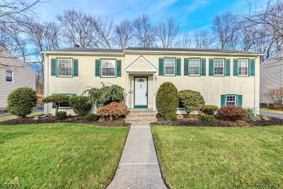 Livingston Twp. Single Family Home Active Under Contract: 33 Brandon Ave