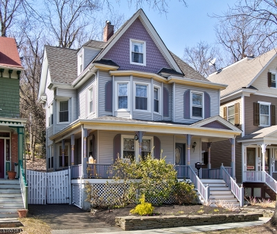 Morristown Town Single Family Home For Sale: 43 Wetmore Ave