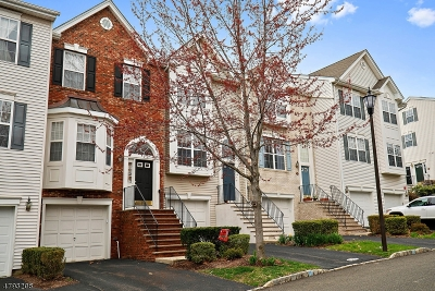 Nutley Twp. Condo/Townhouse For Sale: 601 Hartford Dr
