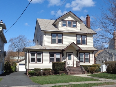 Nutley Twp. Single Family Home For Sale: 99 Elm Pl