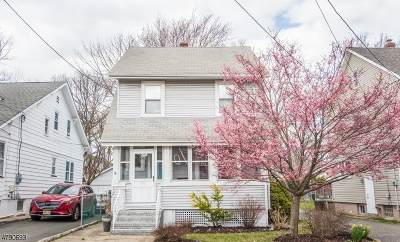 Maplewood Twp. Single Family Home For Sale: 191 Garfield Pl