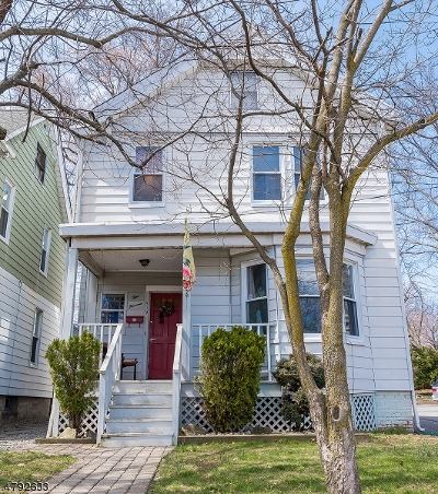 West Orange Twp. Single Family Home For Sale: 519 Valley Rd