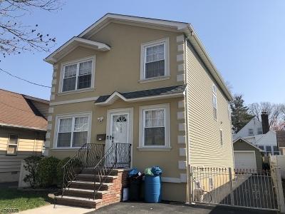 Roselle Park Boro Single Family Home For Sale: 152 W Roselle Ave