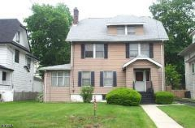 Montclair Twp. Single Family Home For Sale: 214 Valley Rd