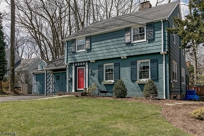 Plainfield City Single Family Home For Sale: 1771 Watchung Ave