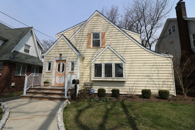 Nutley Twp. Single Family Home For Sale: 22 Stewart Ave