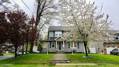 Roselle Park Boro Single Family Home For Sale: 606 Walnut St