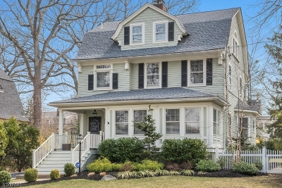 Montclair Twp. Single Family Home For Sale: 185 Montclair Ave