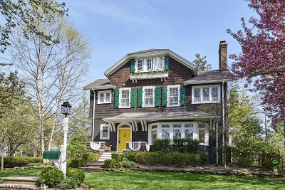 Cranford Twp. Single Family Home For Sale: 120 Cranford Ave