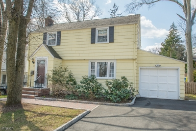 West Orange Twp. Single Family Home For Sale: 36 Greenwood Ave
