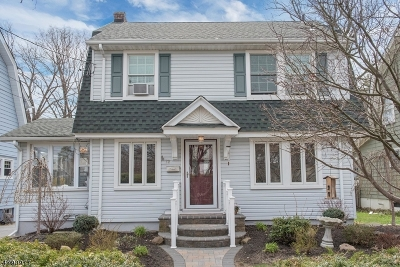 Montclair Twp. Single Family Home For Sale: 72 Bellevue Ave