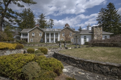 Bernardsville Boro Single Family Home For Sale: 271 Mine Brook Rd