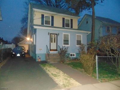 Hillside Twp. Single Family Home For Sale: 1511 Highland Ave