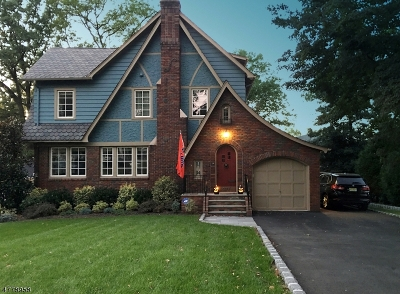 Maplewood Twp. Single Family Home For Sale: 497 Prospect St