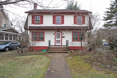 Montclair Twp. Single Family Home For Sale: 217 Watchung Ave