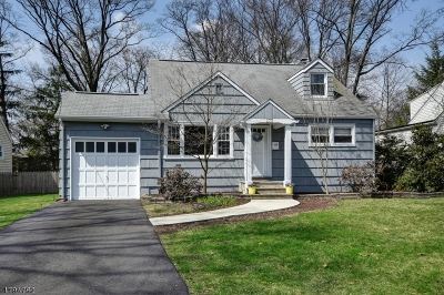 Fanwood Boro Single Family Home For Sale: 173 Midway Ave