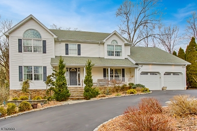Parsippany-Troy Hills Twp. Single Family Home For Sale: 12 Lakeside Dr