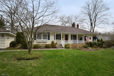Scotch Plains Twp. Single Family Home For Sale: 1819 Chapel Rd