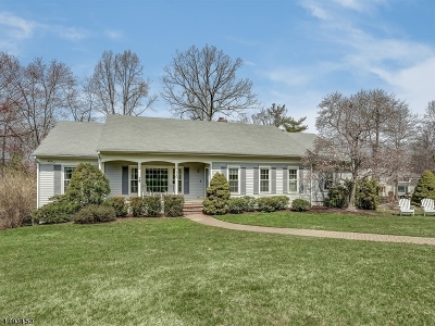 Chatham Twp. Single Family Home For Sale: 110 Glenmere Dr
