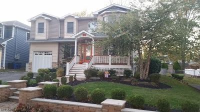 Cranford Twp. Single Family Home For Sale: 313 Denman Rd