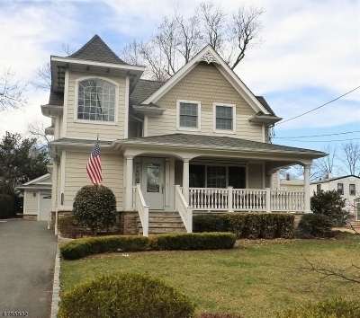 Nutley Twp. Single Family Home For Sale: 14 Brookway