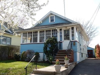 Roselle Park Boro Single Family Home For Sale: 144 W Lincoln Ave