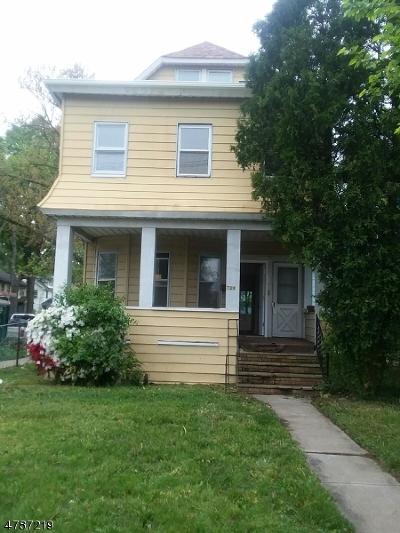 Roselle Boro Multi Family Home For Sale: 728 Chestnut St