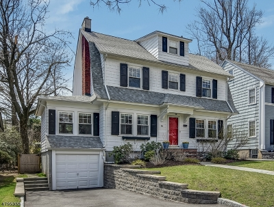 Montclair Twp. Single Family Home For Sale: 16 Windsor Pl