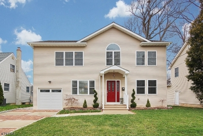 Cranford Twp. Single Family Home For Sale: 178 Mohawk Dr