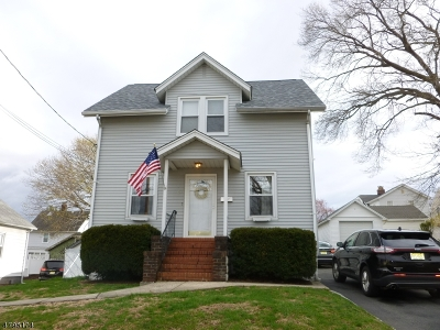 Nutley Twp. Single Family Home For Sale: 29 Orchard St