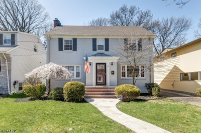 Maplewood Twp. Single Family Home For Sale: 59 Highland Ave