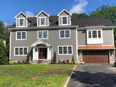 Florham Park Boro Single Family Home For Sale: 125 Braidburn Rd