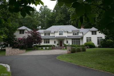 Bernardsville Boro NJ Single Family Home For Sale: $2,994,500