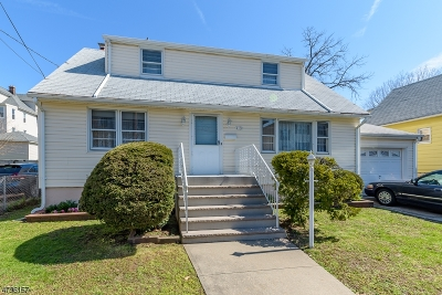 Hillside Twp. Single Family Home Active Under Contract: 153 Boston Ave