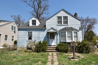 Scotch Plains Twp. Single Family Home For Sale: 349 Terrill Rd