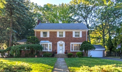 South Orange Village Twp. Single Family Home For Sale: 179 Great Hills Dr