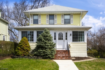 Montclair Twp. Single Family Home For Sale: 115 Wildwood Ave