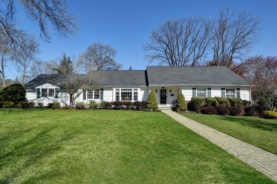 Florham Park Boro Single Family Home For Sale: 1 Vultee Dr