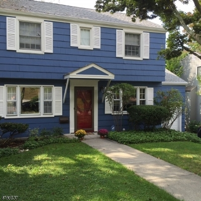 West Orange Twp. Single Family Home For Sale: 45 Lenox Ter