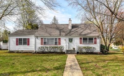 Scotch Plains Twp. Single Family Home For Sale: 1852 Lake Ave