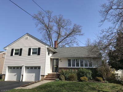 Cranford Twp. Single Family Home For Sale: 242 Denman Rd