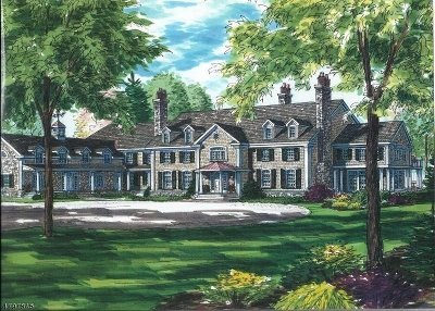 Bernardsville Boro NJ Single Family Home For Sale: $3,995,000
