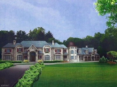 Bernardsville Boro NJ Single Family Home For Sale: $3,495,000