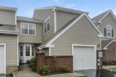 West Orange Twp. Condo/Townhouse For Sale: 387 Digaetano Ter