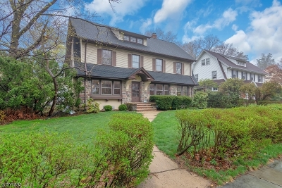 Montclair Twp. Single Family Home For Sale: 91 Harrison Ave